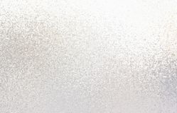 A luz vislumbra o teste padrão Textura de prata brilhante Fundo do vidro geado ilustração do vetor
