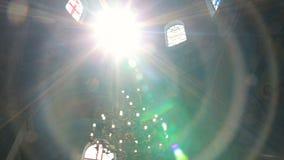 Luz y edificios, naturaleza de Sun, metrajes