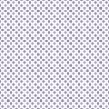 Luz y pequeña polca púrpura oscura Dot Pattern Repeat Background Imagen de archivo libre de regalías
