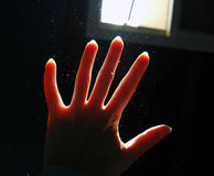 Luz y polvo Fotos de archivo