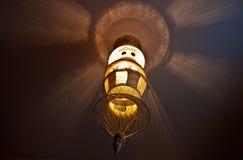 Luz y shadowplay Fotos de archivo