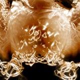 Luz y sustancia de potencia Fotos de archivo