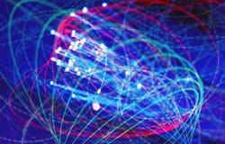 Luz y tecnología Foto de archivo