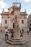 Luzavierkant, Dubrovnik, Kroatië Stock Afbeeldingen