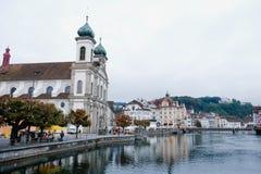 Luzern Ελβετία, Στοκ Φωτογραφία