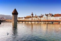 luzern Швейцария Стоковое Фото