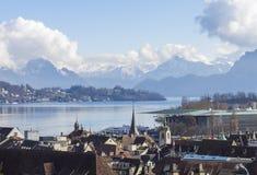 Luzern Royaltyfria Bilder