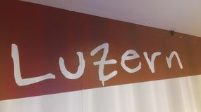 Luzern Royaltyfri Fotografi