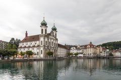 Luzern Church Stock Photos