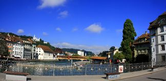 Luzern City Royalty Free Stock Photos
