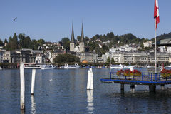 Luzern city view, Switzerland Stock Image