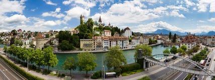 Luzern cityscape Stock Photography