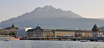 Luzern cityscape Royalty Free Stock Photography