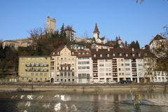 Luzern cityscape of Switzerland Stock Photo