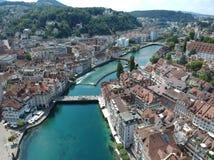 Luzern, die lucern Schweiz stockfoto