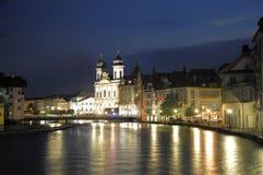 Luzern. Die Schweiz. stockbilder