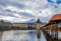 Luzern i Schweiz Royaltyfria Bilder