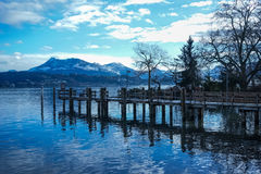 Luzern i Schweiz royaltyfri fotografi