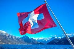 Luzern i Schweiz royaltyfria foton