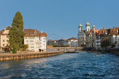 Luzern In A Sunny September Day Royalty Free Stock Images
