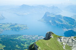 Luzern lake Royalty Free Stock Image