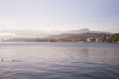 Luzern lake, Switzerland Stock Image