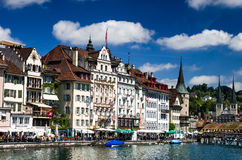 Luzern, Lucerne, Switzerland Royalty Free Stock Photos