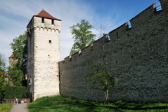 Luzern, Old Fort Royalty Free Stock Photos