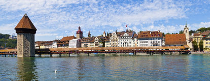 Luzern Panorama Stock Photography