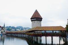 Luzern Schweiz, Royaltyfria Bilder