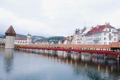 Luzern Schweiz, Arkivbilder