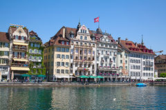 Luzern in summer Royalty Free Stock Photography