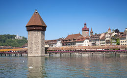 Luzern in summer Royalty Free Stock Photos