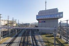 Luzern train station, Switzerland Royalty Free Stock Photography