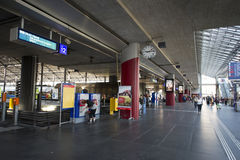 Luzern train station, Switzerland Stock Image