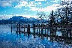 Luzern w Switzerland Fotografia Royalty Free