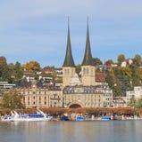 Luzerne, automne Image libre de droits