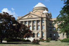 Luzerne County Courthouse Royalty Free Stock Photography