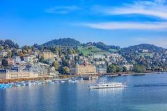 Luzerne de lac, Suisse Images stock