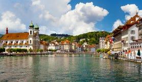Luzerne, die Schweiz lizenzfreies stockbild