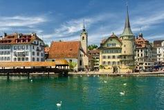 Luzerne, die Schweiz stockbild