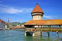 Luzerne die Schweiz Stockfoto