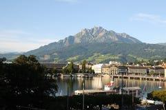 Luzerne et Pilatus Photographie stock