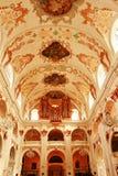 Luzerne intérieure Suisse d'église de jésuite Photos libres de droits