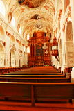 Luzerne intérieure Suisse d'église de jésuite Photo libre de droits