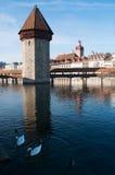 Luzerne, kapitaal van Kanton van Luzerne, Centraal Zwitserland, Europa royalty-vrije stock fotografie