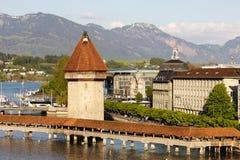 Luzerne, Landschaft der Stadt Lizenzfreies Stockbild