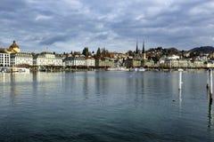 Luzerne in Zwitserland Royalty-vrije Stock Afbeelding