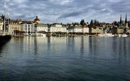 Luzerne in Zwitserland Royalty-vrije Stock Foto