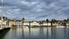 Luzerne in Zwitserland Stock Fotografie
